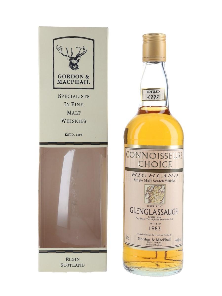 Glenglassaugh 1983 Connoisseurs Choice Bottled 1997 - Gordon & MacPhail 70cl / 40%