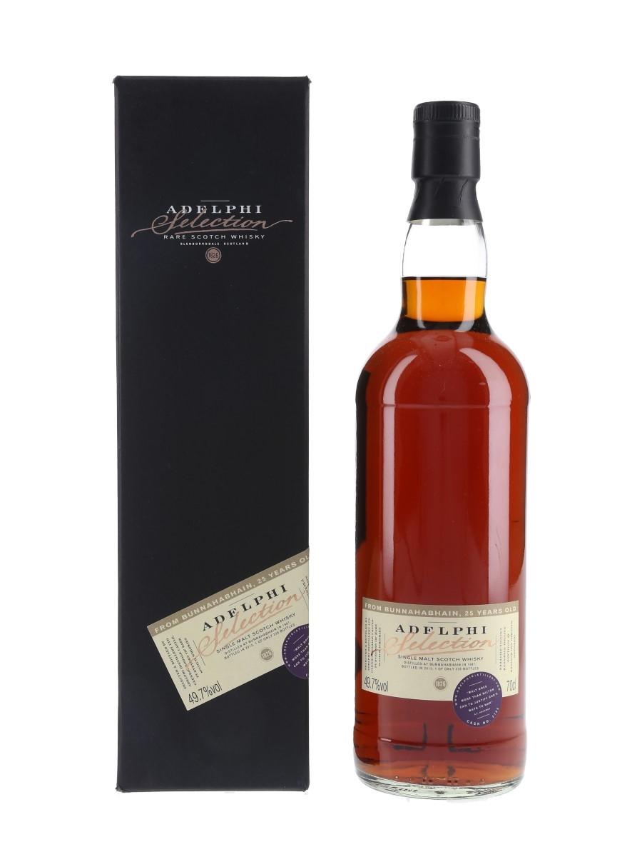 Bunnahabhain 1987 25 Year Old Bottled 2013 - Adelphi 70cl / 49.7%