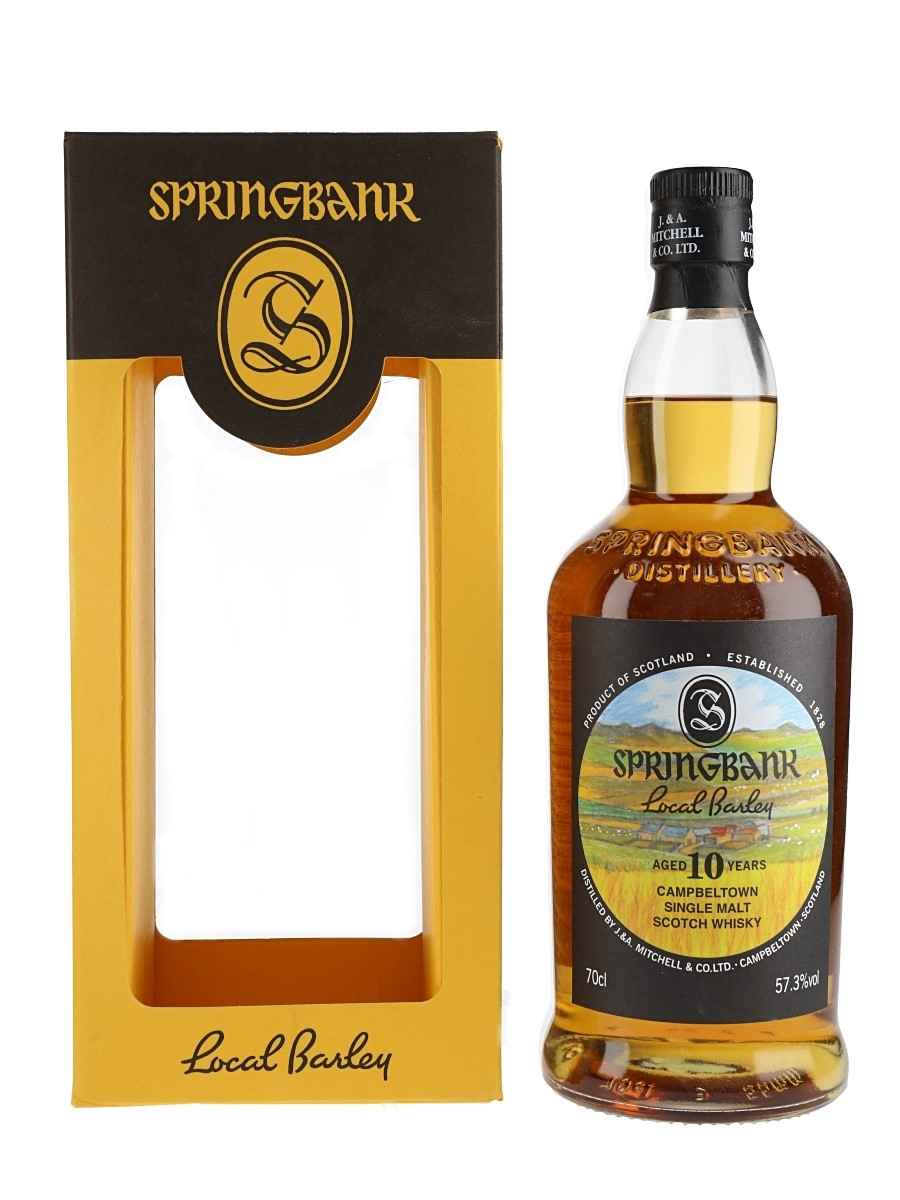 Springbank 2007 10 Year Old Local Barley Bottled 2017 70cl / 57.3%