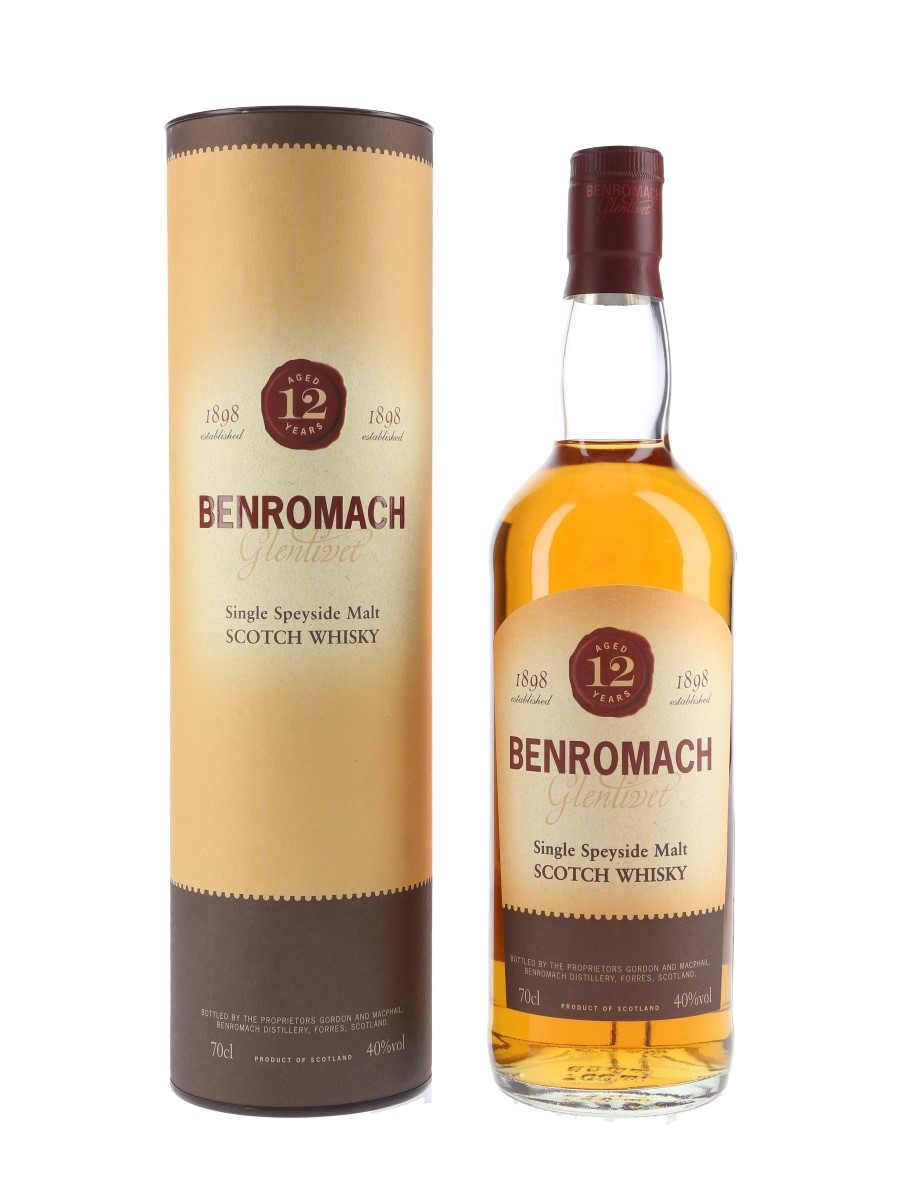 Benromach 12 Year Old Bottled 1990s - Gordon & MacPhail 70cl / 40%