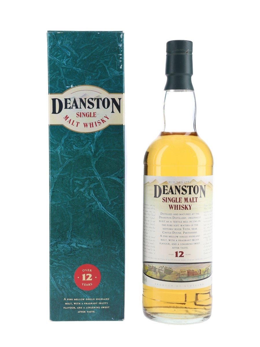 Deanston 12 Year Old Bottled 1990s 70cl / 40%