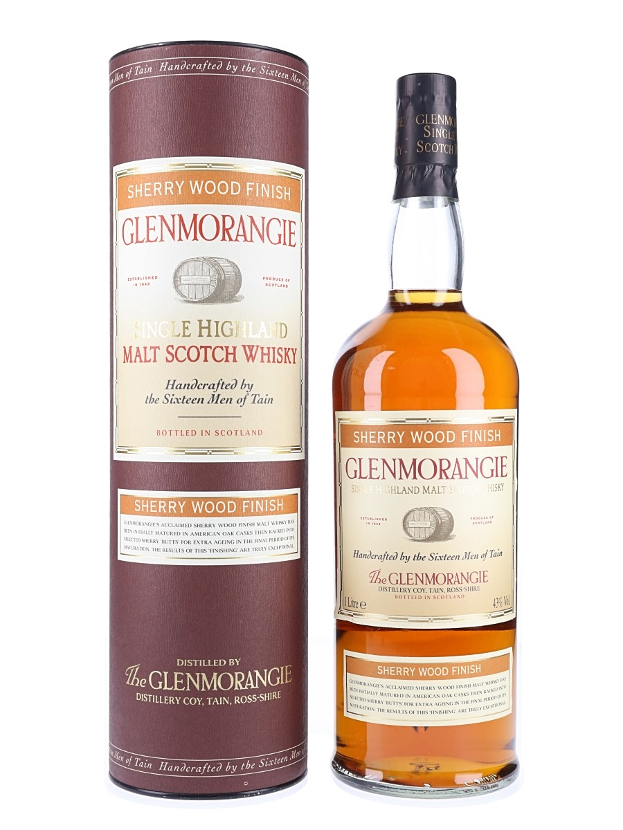 Glenmorangie Sherry Wood Finish Bottled 2000s 100cl / 43%