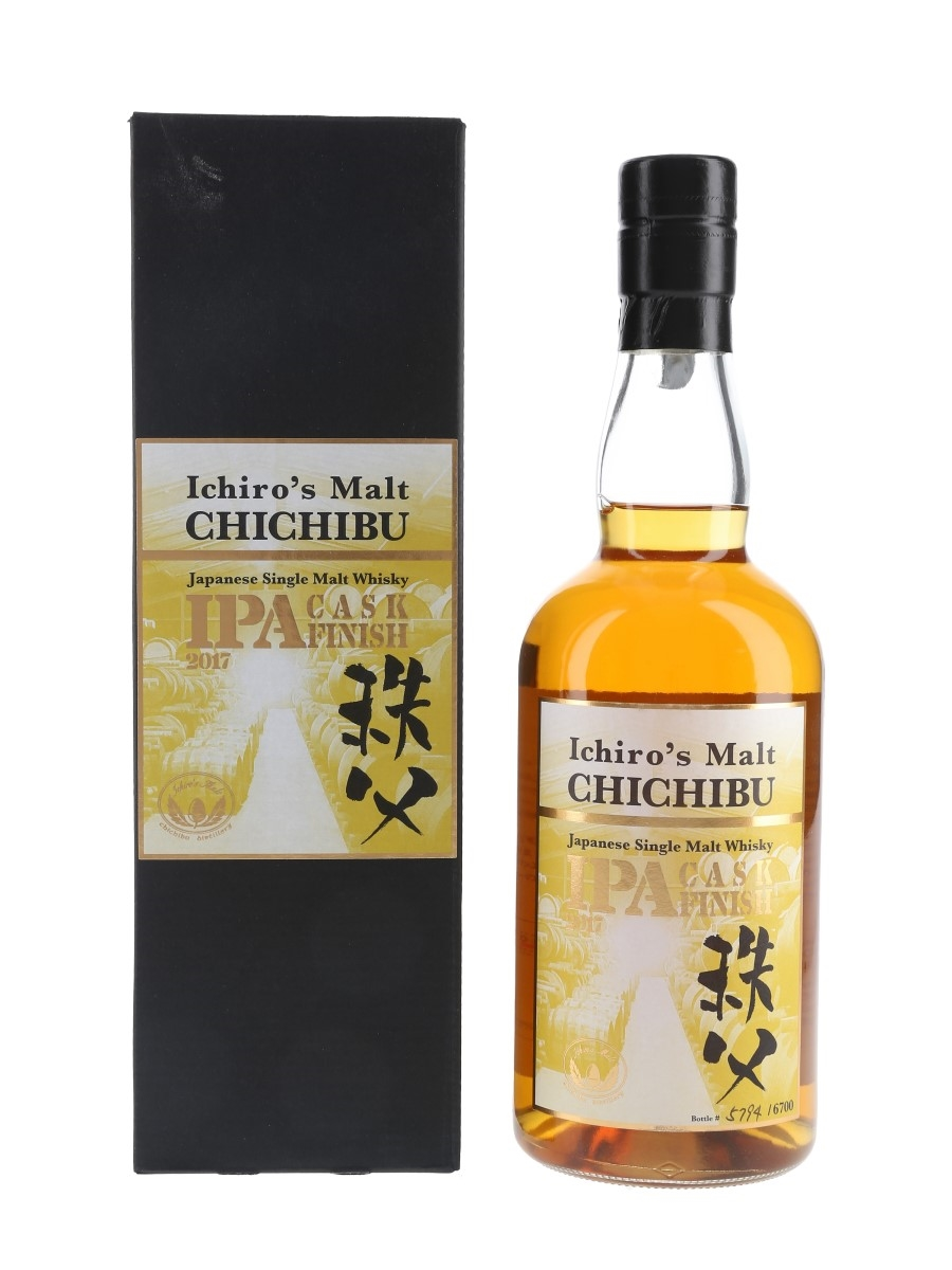 Chichibu IPA Cask Finish Bottled 2017 70cl / 57.5%