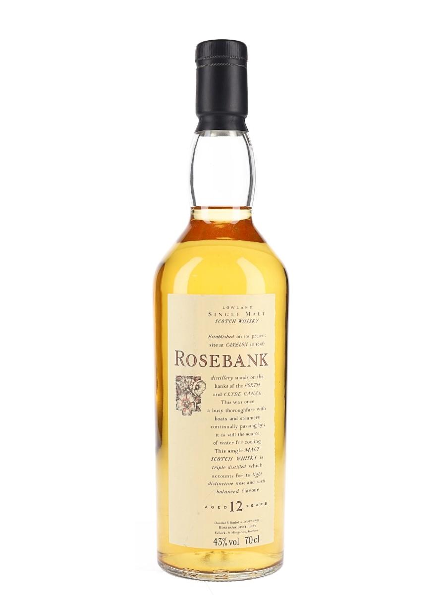 Rosebank 12 Year Old Flora & Fauna 70cl / 43%