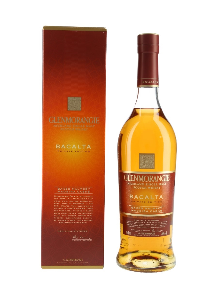 Glenmorangie Bacalta Private Edition 70cl / 46%