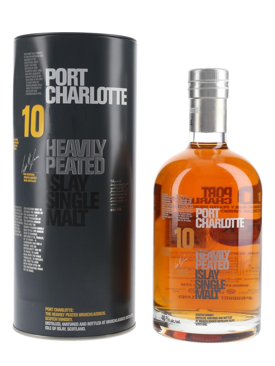 Port Charlotte 10 Year Old Heavily Peated  70cl / 46%