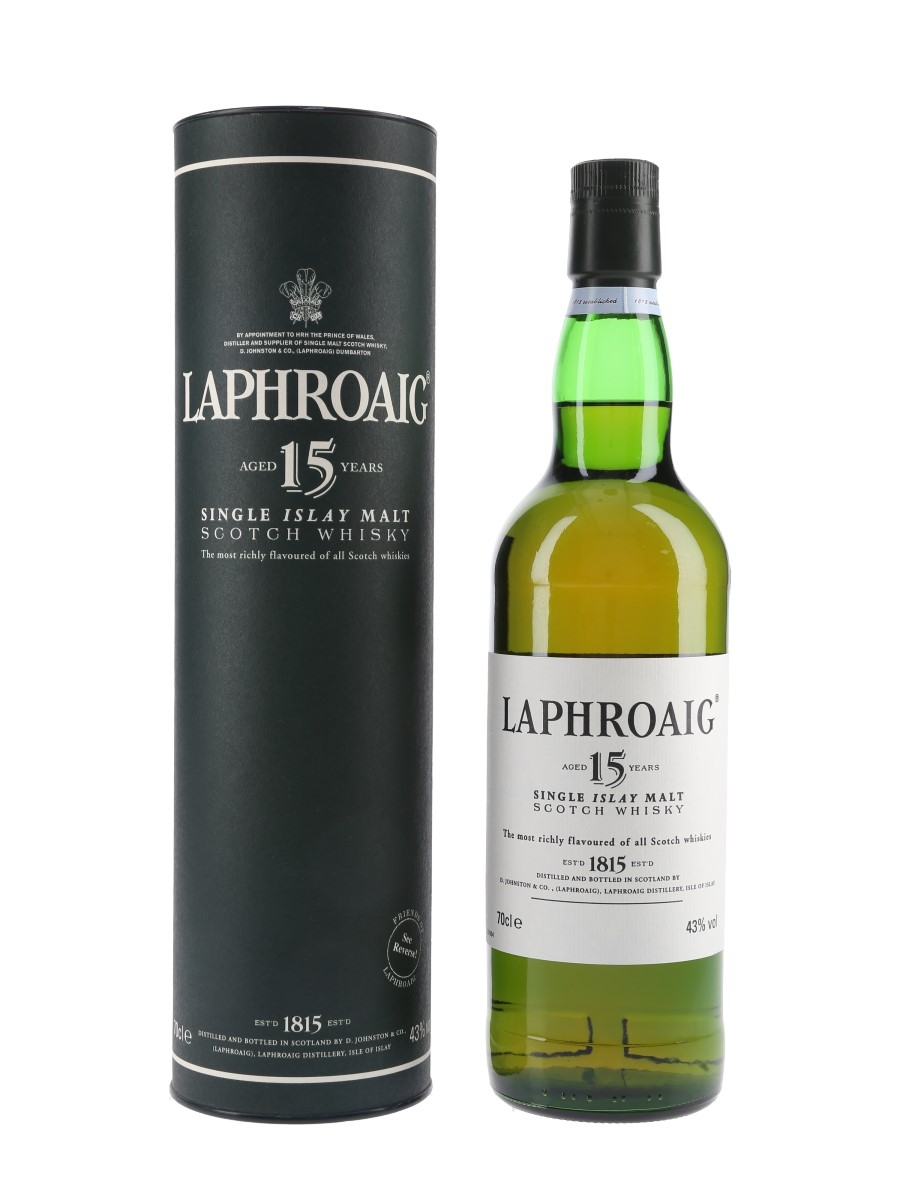 Laphroaig 15 Year Old Bottled 2000s 70cl / 43%