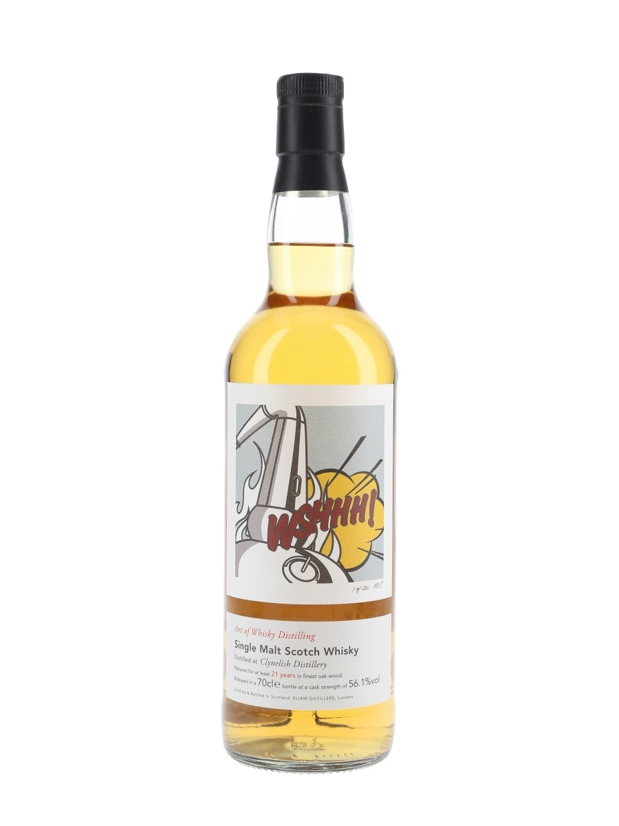 Clynelish 21 Year Old Art of Whisky Distilling - Elixir Distillers 70cl / 56.1%