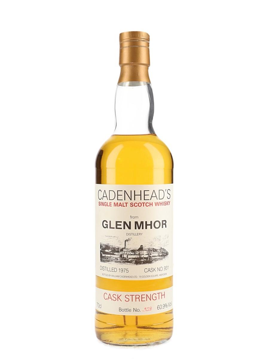 Glen Mhor 1975 Cask Strength #931 Bottled 1990s - Cadenhead's 70cl / 60.9%