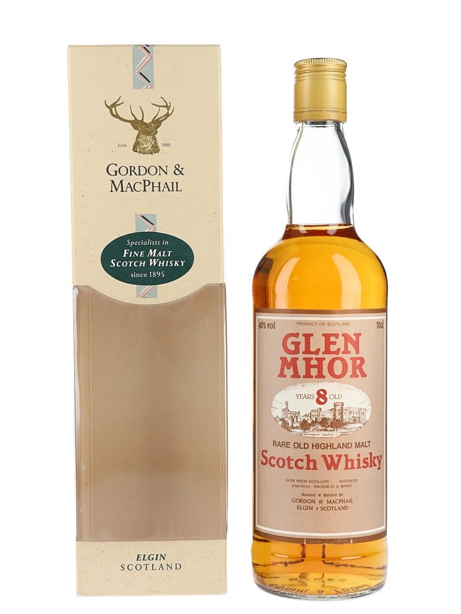 Glen Mhor 8 Year Old Bottled 1990s - Gordon & MacPhail 70cl / 40%