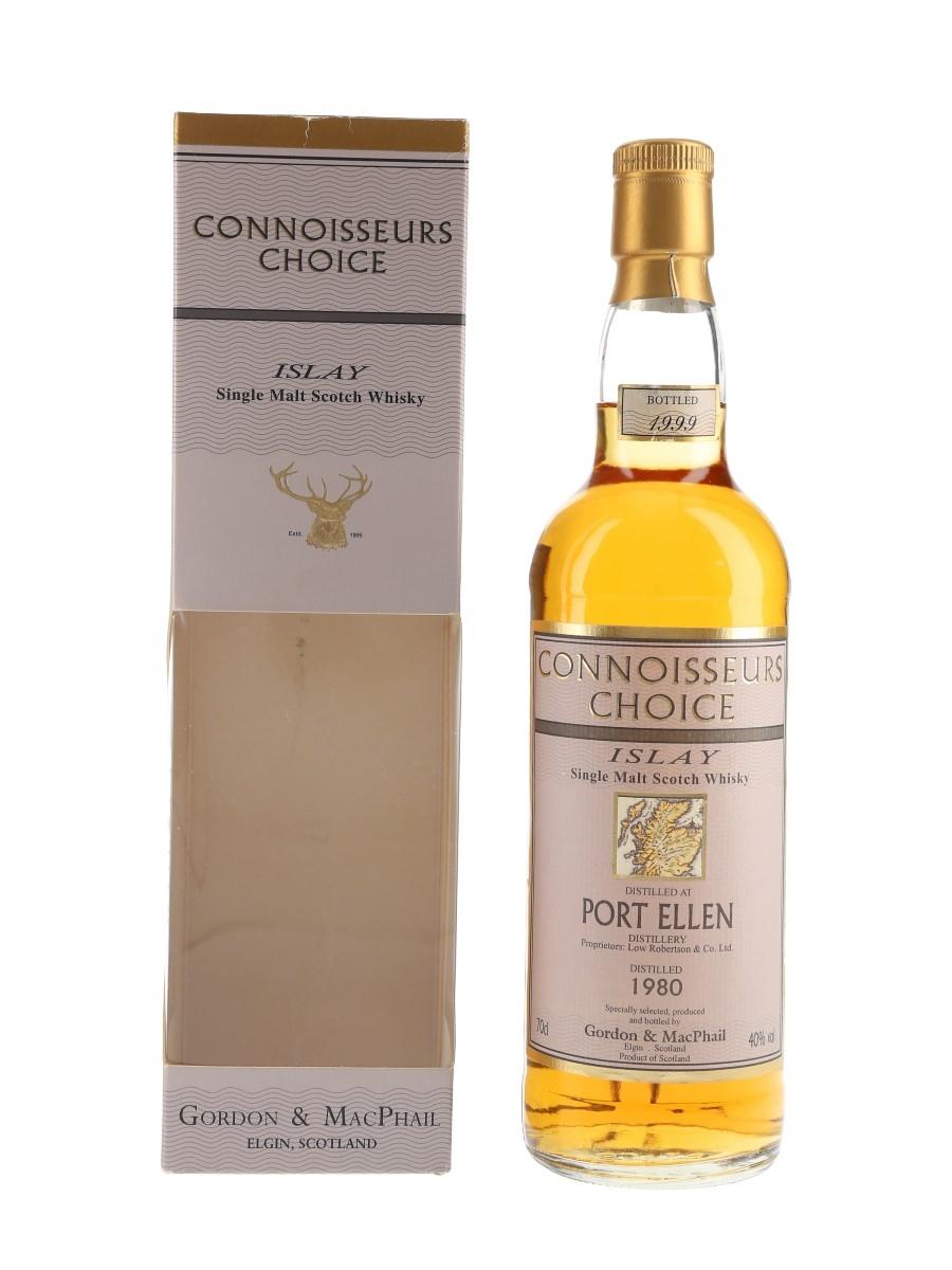 Port Ellen 1980 Connoisseurs Choice Bottled 1999 - Gordon & MacPhail 70cl / 40%