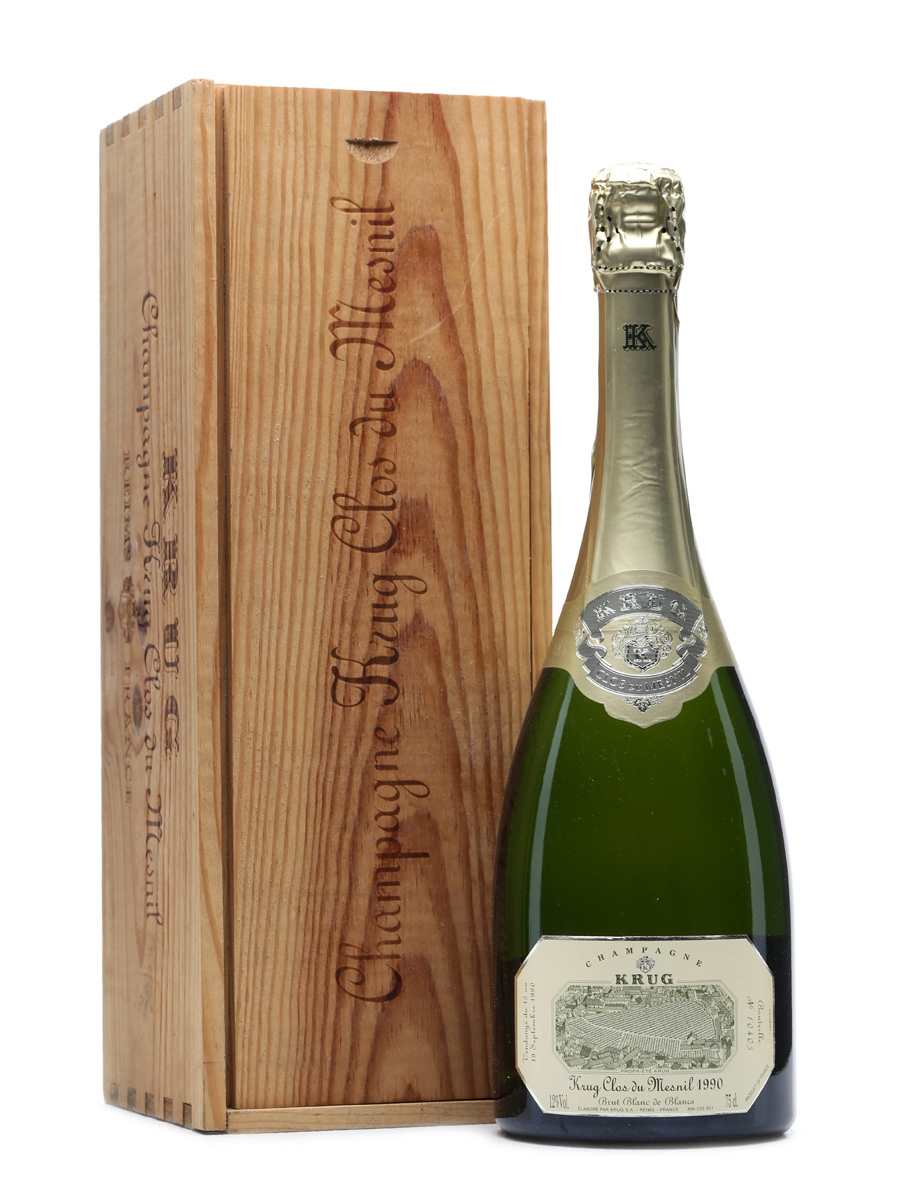 Krug 1990 Clos Du Mesnil Champagne 75cl