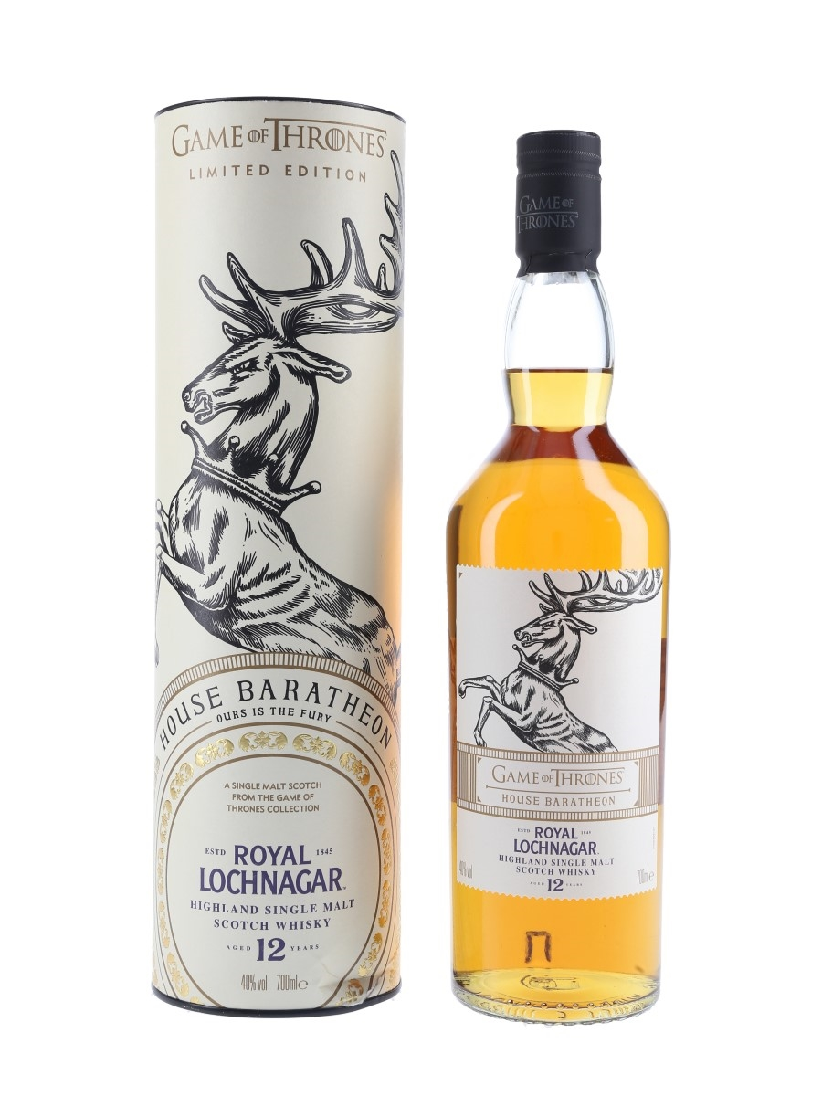 Royal Lochnagar 12 Year Old Game Of Thrones - House Baratheon 70cl / 40%
