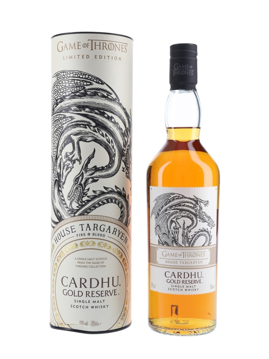 Cardhu Gold Reserve Game Of Thrones - House Targaryen 70cl / 40%