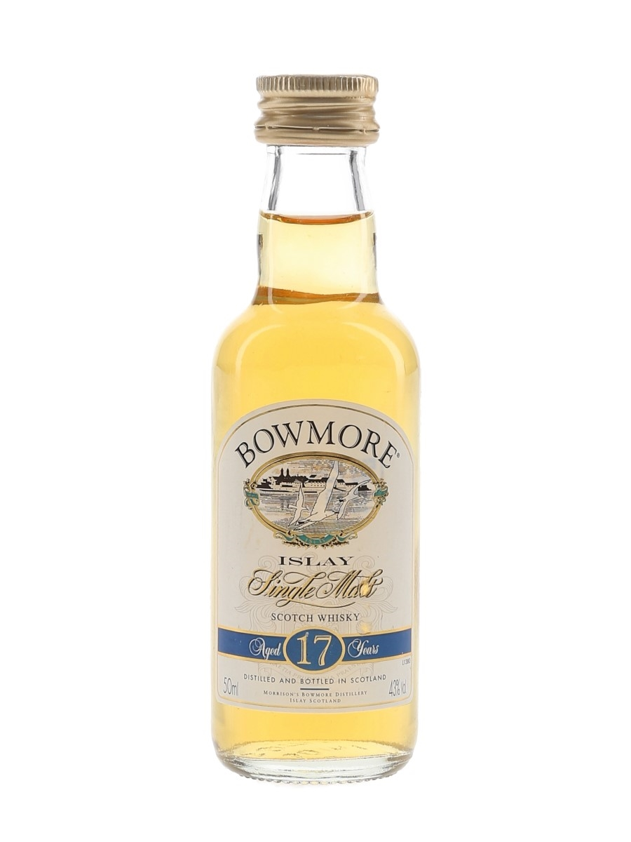 Bowmore 17 Year Old Bottled 1990s-2000s 5cl / 43%