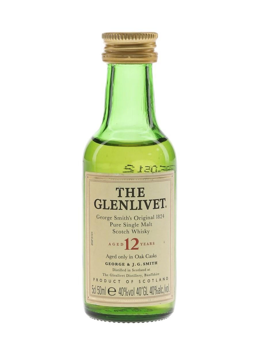 Glenlivet 12 Year Old  5cl / 40%