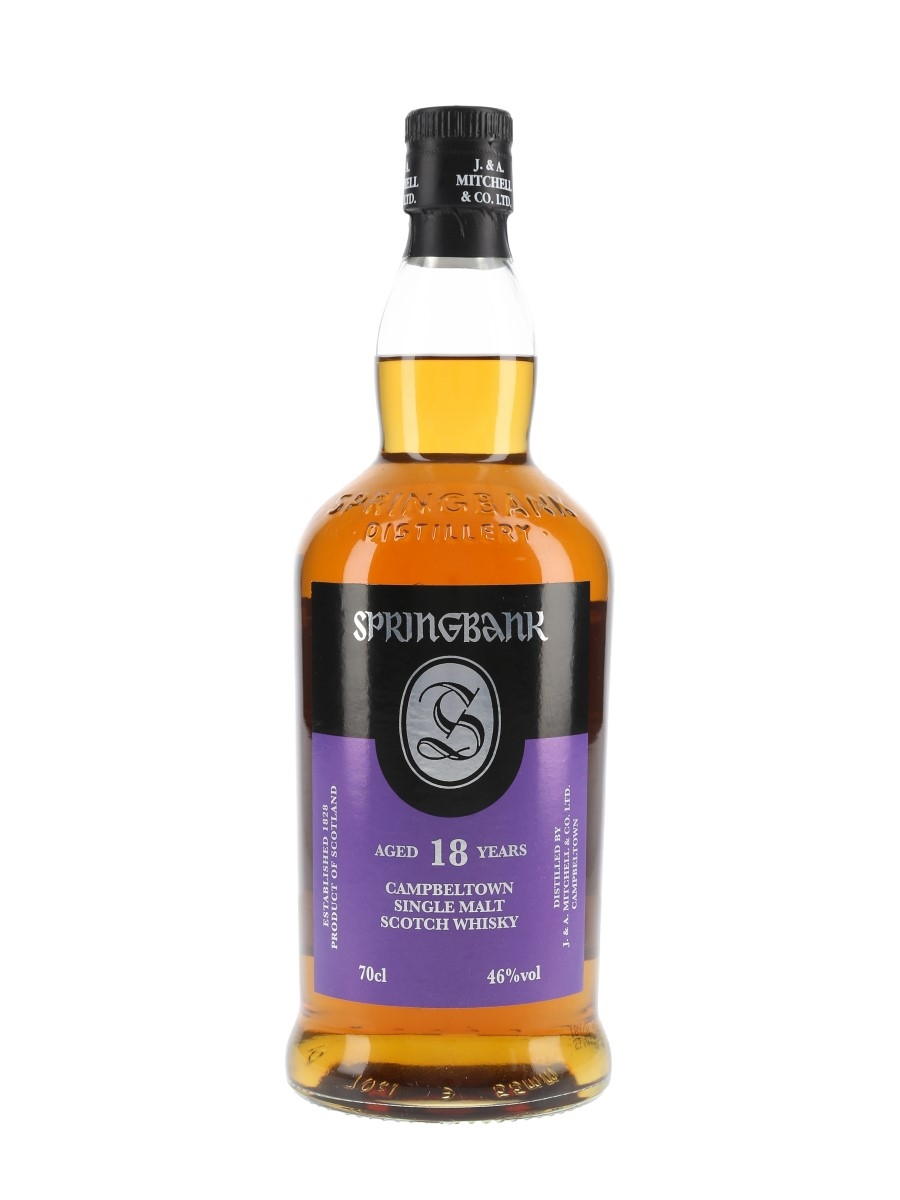 Springbank 18 Year Old Bottled 2015 70cl / 46%