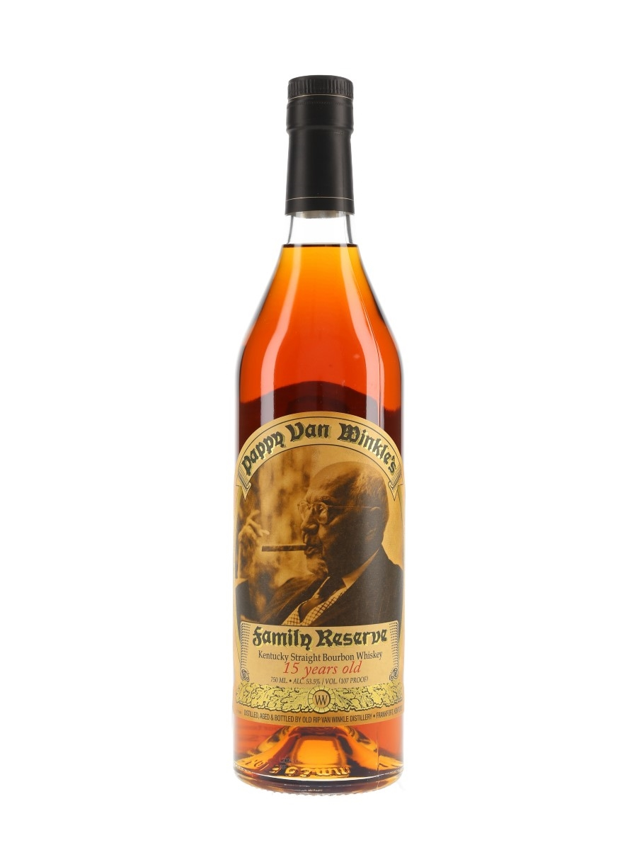 Pappy Van Winkle's 15 Year Old Family Reserve Bottled 2020 75cl / 53.5%
