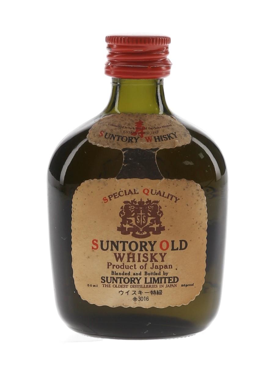 Suntory Old Whisky Bottled 1960s-1970s 5cl / 43%