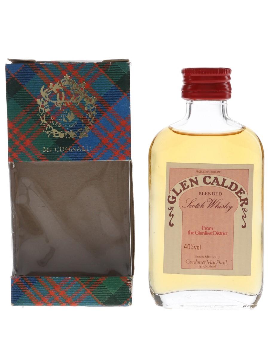 Glen Calder Bottled 1980s - Gordon & MacPhail 5cl / 40%