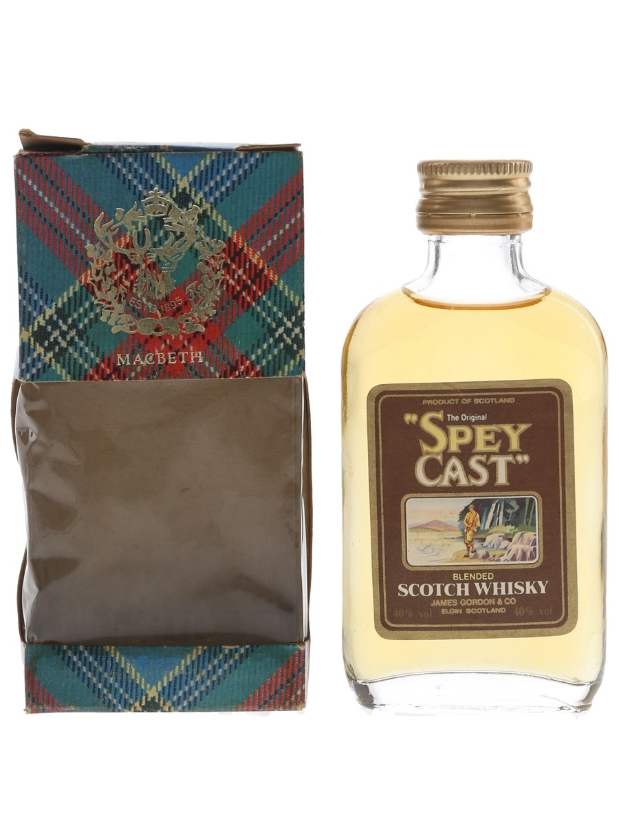 Spey Cast The Original Bottled 1980s - James Gordon 5cl / 40%