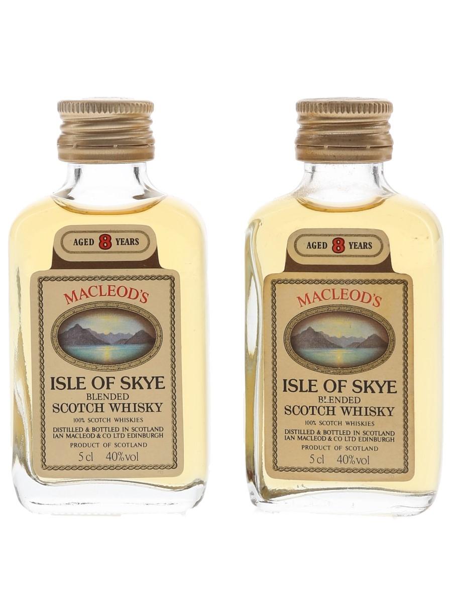 Macleod's Isle Of Skye 8 Year Old  2 x 5cl / 40%