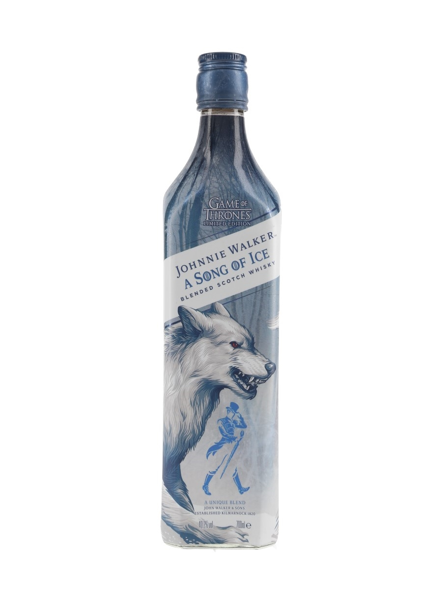 Johnnie Walker A Song Of Ice Bottled 2019 - Game Of Thrones 70cl / 40.2%