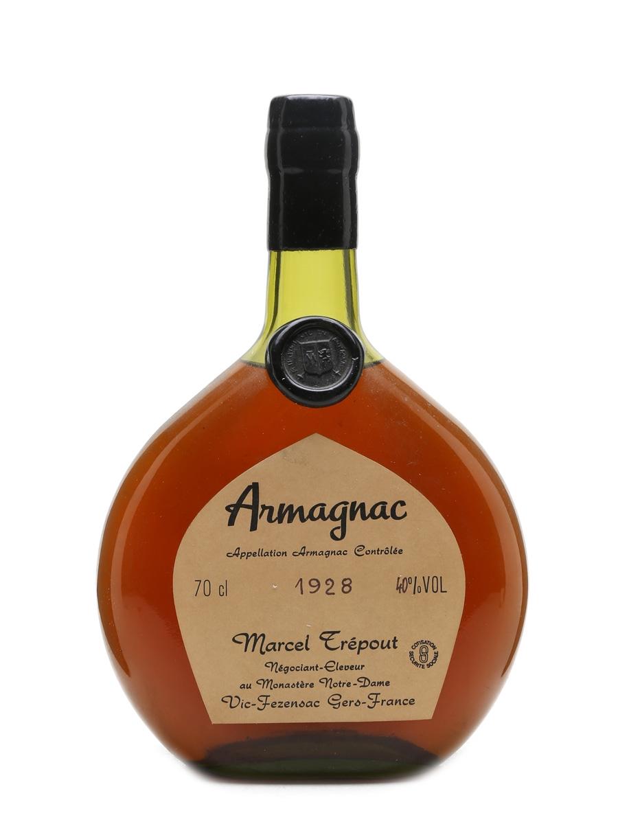 Marcel Trepout 1928 Armagnac  70cl / 40%