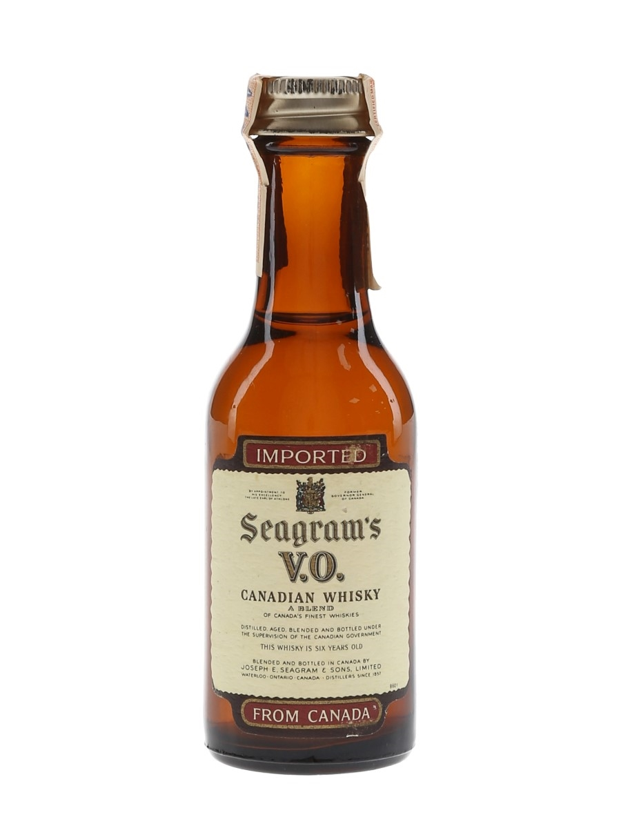 Seagram's VO 6 Year Old 1972  4.7cl