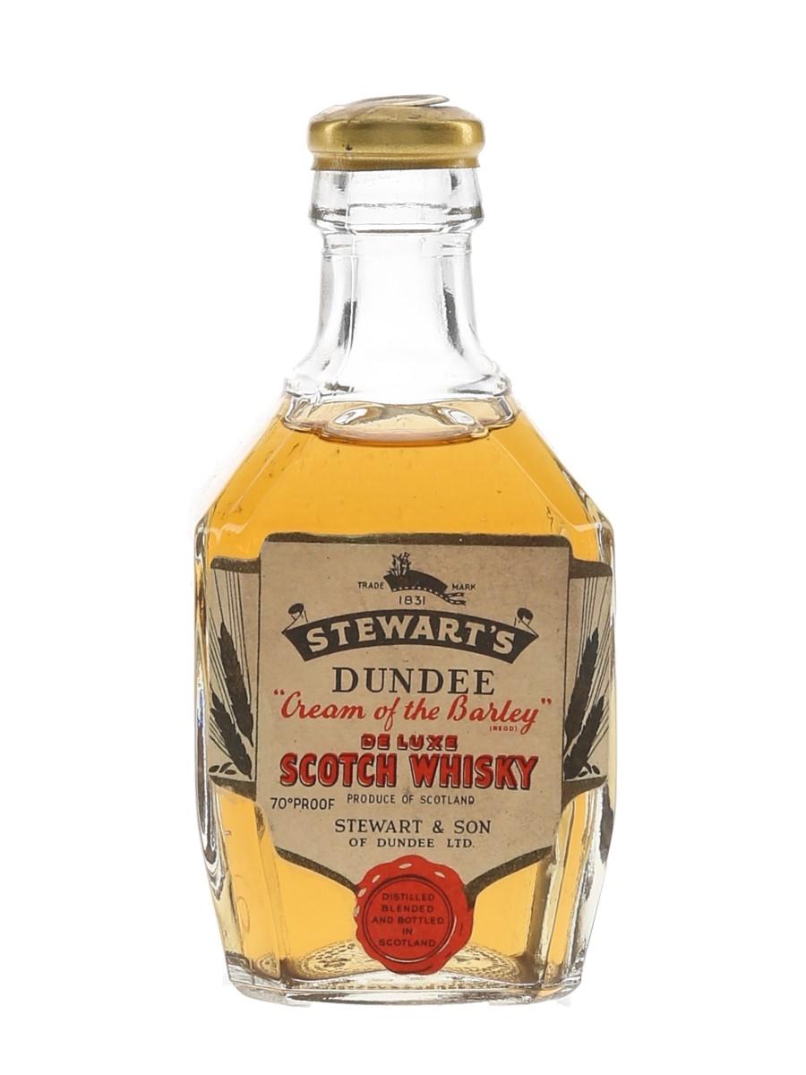 Stewart's Cream Of The Barley De Luxe Bottled 1960s 5cl/ 40%