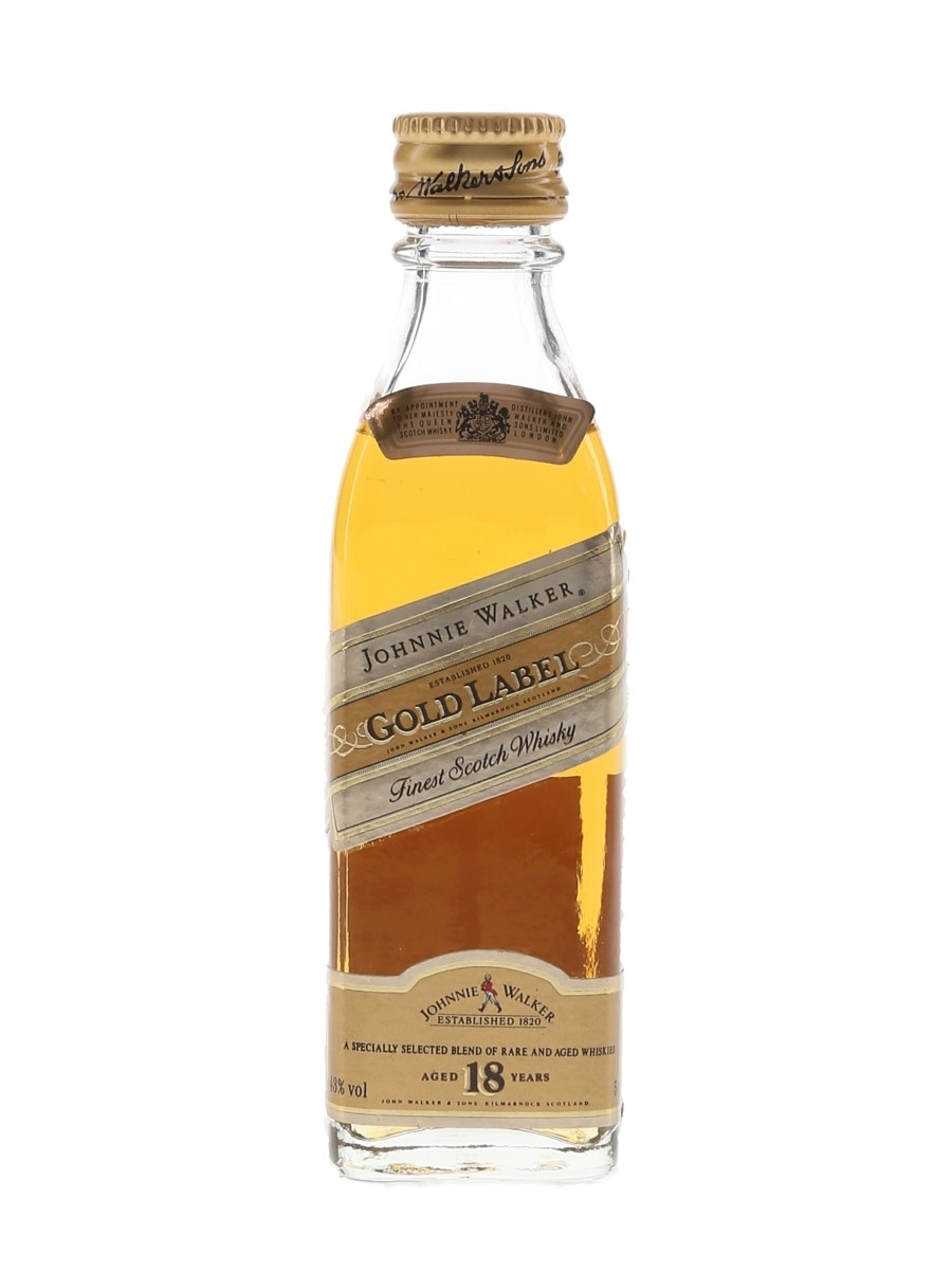 Johnnie Walker 18 Year Old Gold Label  5cl / 43%