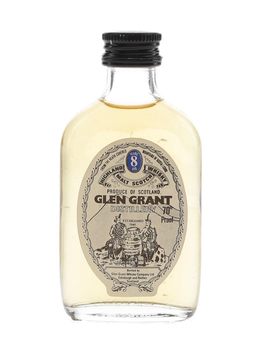 Glen Grant 8 Year Old Bottled 1970s 5cl / 40%