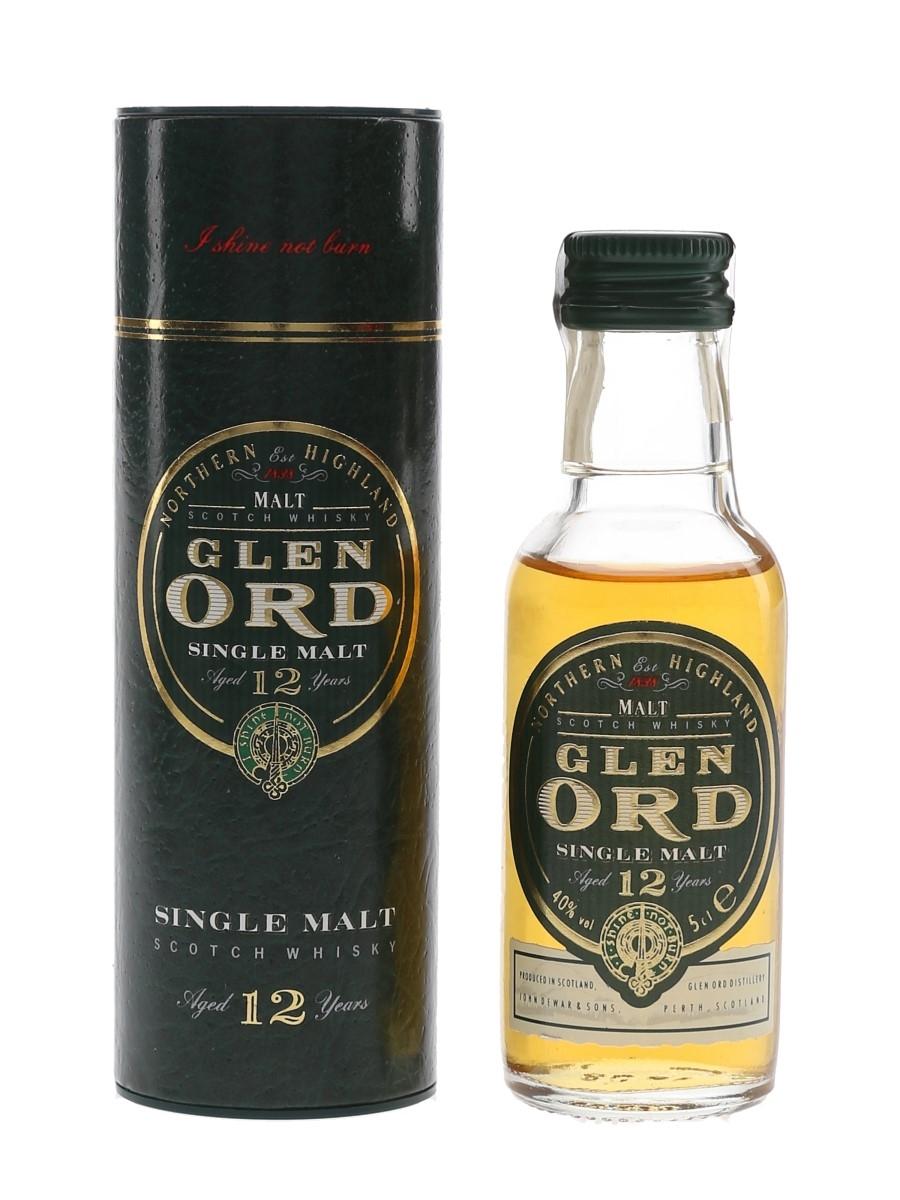 Glen Ord 12 Year Old Bottled 1990s 5cl / 40%