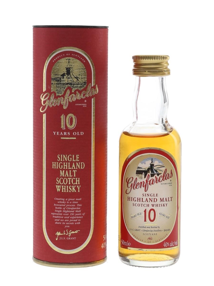 Glenfarclas 10 Year Old Bottled 1990s 5cl / 40%