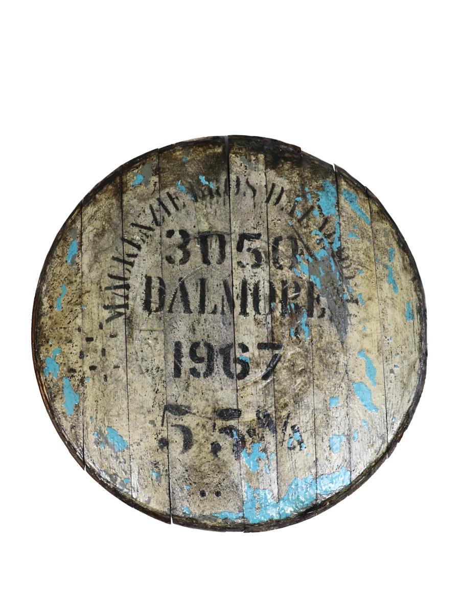Dalmore 1967 3050 Cask End  55cm Diameter