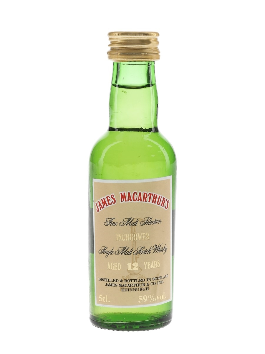 Inchgower 12 Year Old Bottled 1991 - James MacArthur's 5cl / 59%