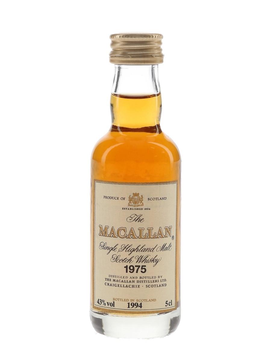 Macallan 1975 Bottled 1994 5cl / 43%