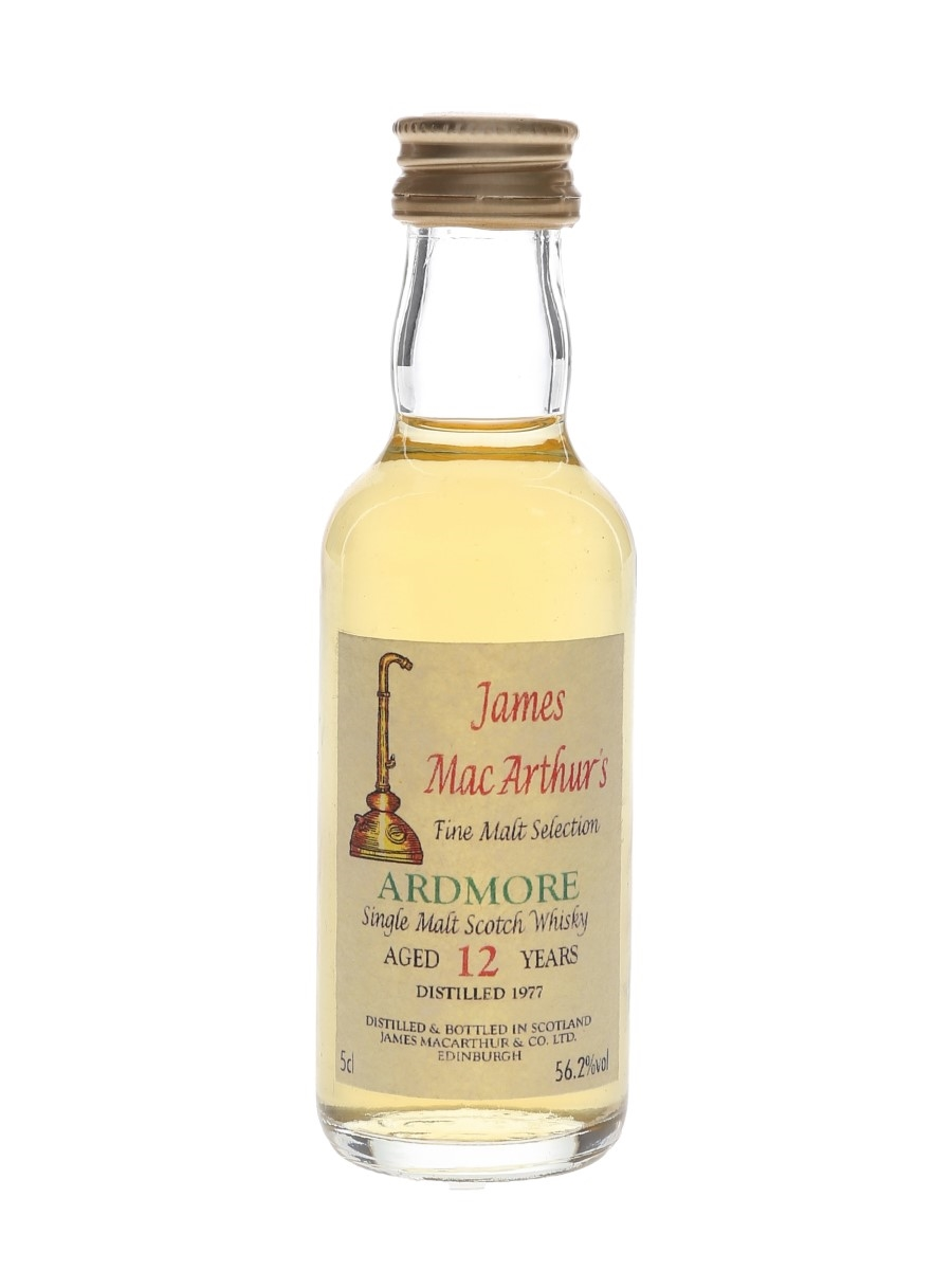 Ardmore 1977 12 Year Old James MacArthur's 5cl / 56.2%