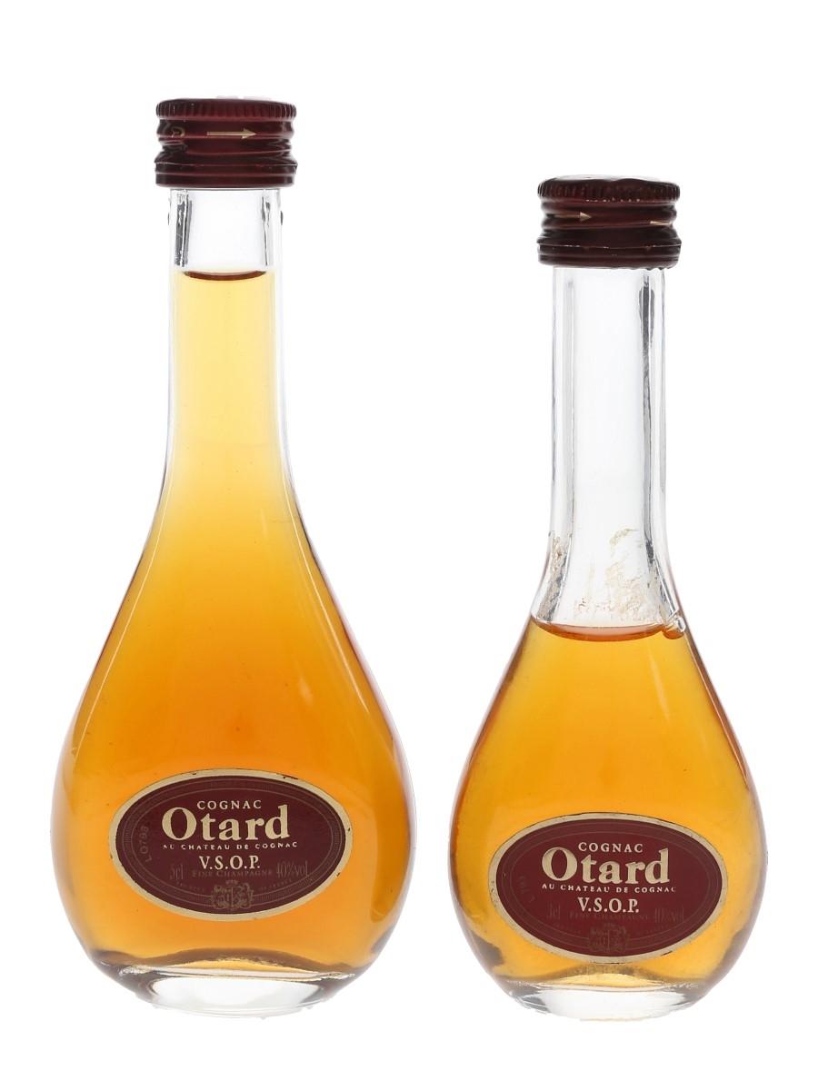 Otard VSOP Bottled 1950s-1960s 2 x 3cl-5cl / 40%