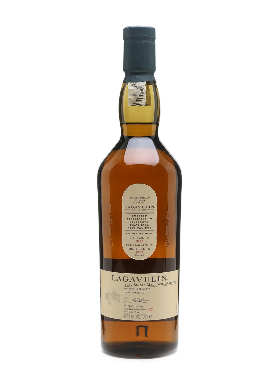 Lagavulin 1997 Islay Jazz Festival 2012 70cl / 54.5%