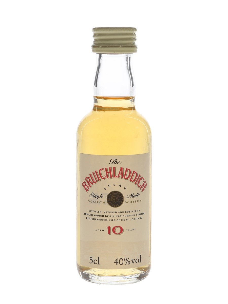 Bruichladdich 10 Year Old Bottled 1990s 5cl / 40%