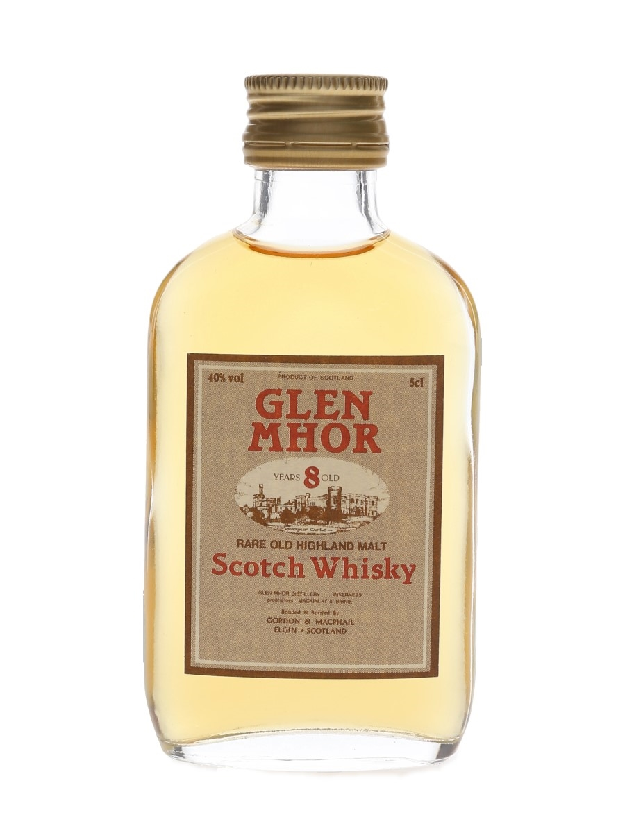 Glen Mhor 8 Year Old Bottled 1990s - Gordon & MacPhail 5cl / 40%