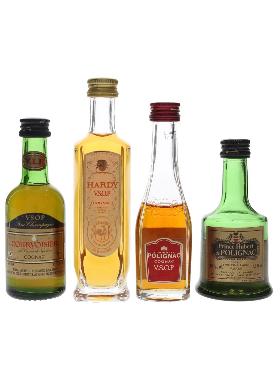 Assorted Cognac  4 x 3cl-5cl / 40%