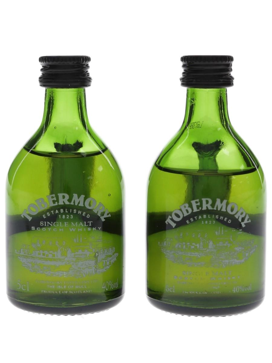Tobermory Bottled 1980s-1990s 2 x 5cl / 40%