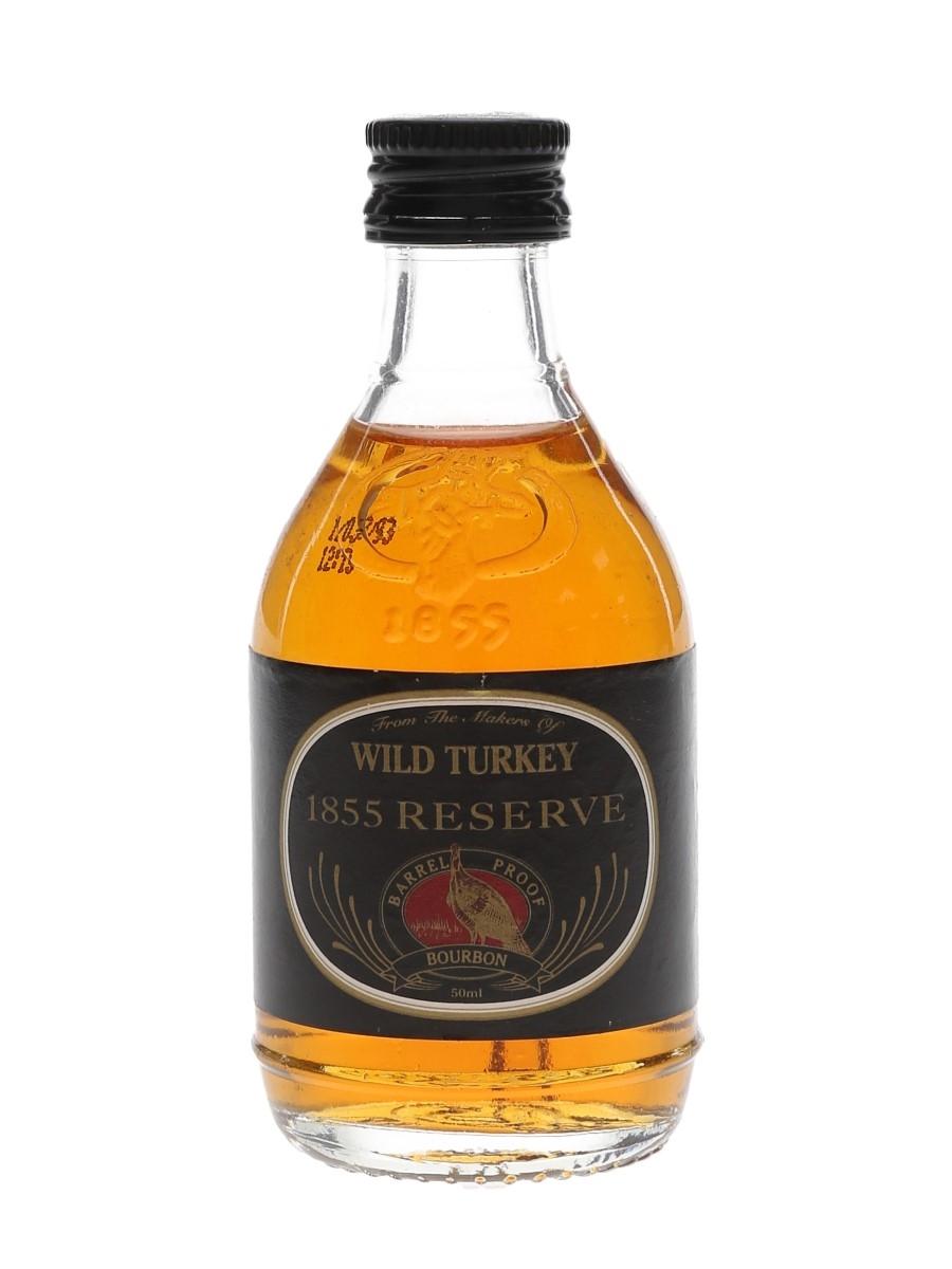 Wild Turkey 1855 Reserve Bottled 1990s 5cl / 55%