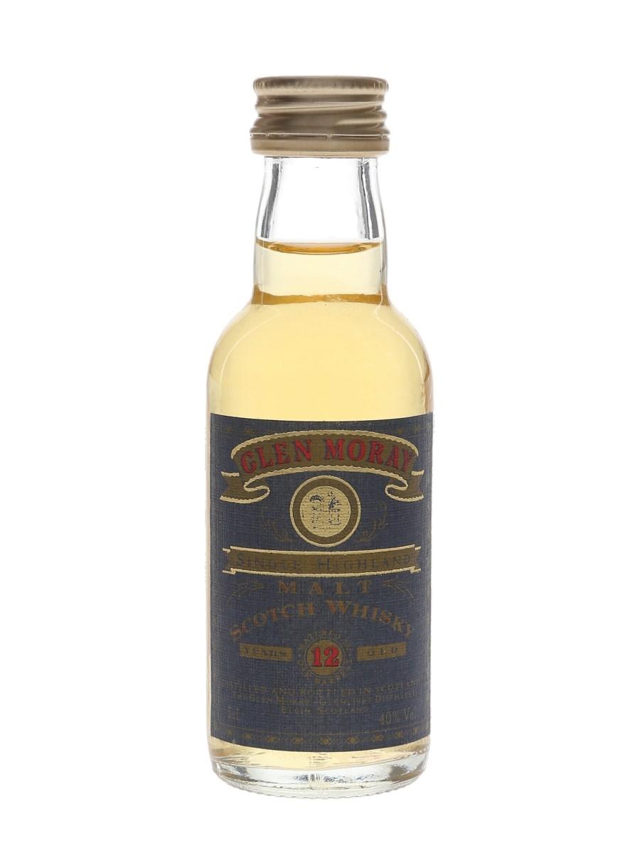 Glen Moray 12 Year Old Bottled 2000s 5cl / 40%