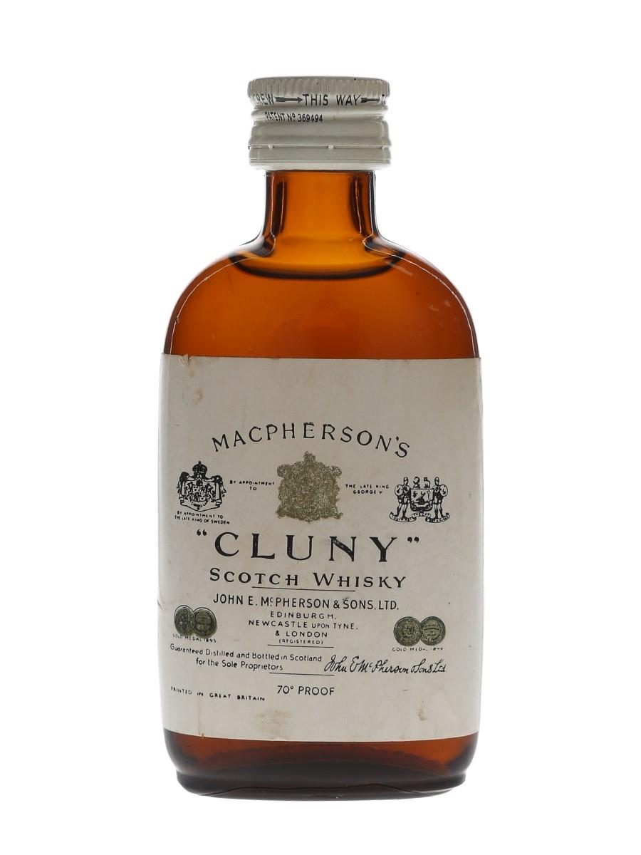 Macpherson's Cluny Bottled 1960s 5cl / 40%
