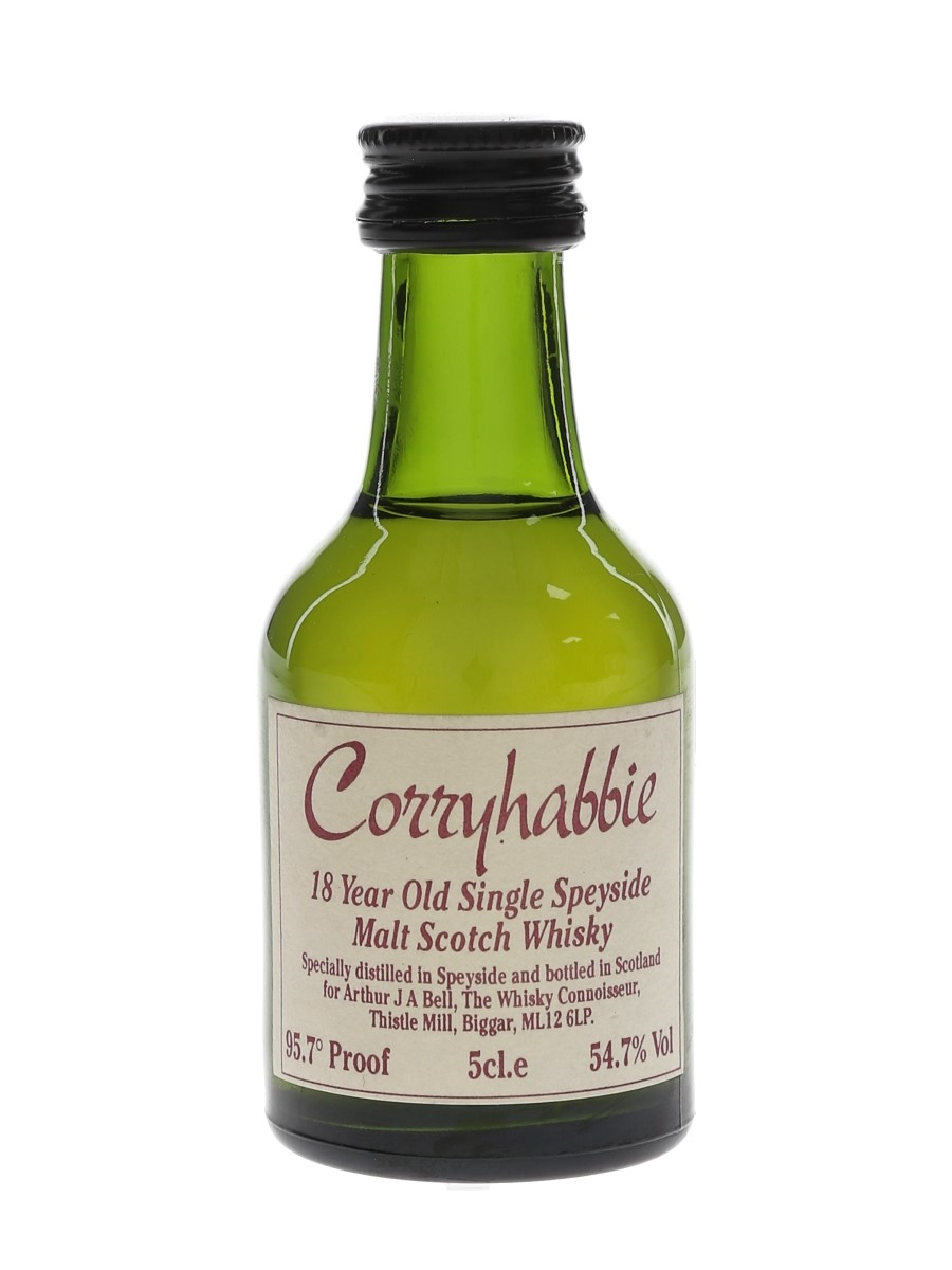 Corryhabbie 18 Year Old The Whisky Connoisseur 5cl / 54.7%