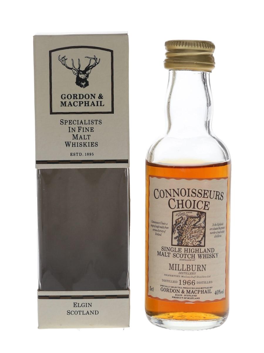 Millburn 1966 Connoisseurs Choice Bottled 1990s - Gordon & MacPhail 5cl / 40%