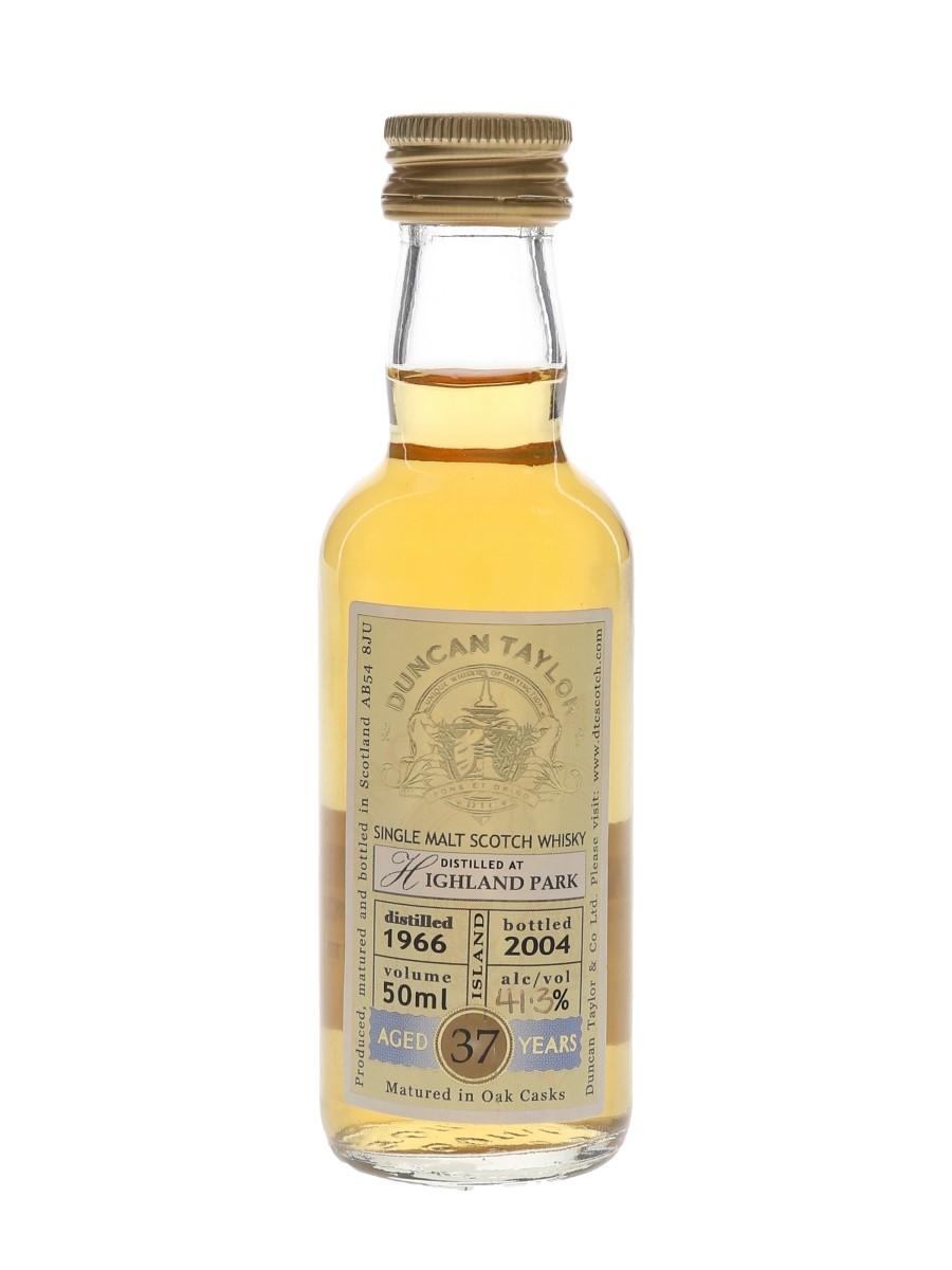 Highland Park 1966 37 Year Old Bottled 2004 - Duncan Taylor 5cl / 41.3%